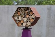Insect Homes / Hey Neighbor! Here are some clever houses to attract pollinating insects to your garden.  / by Insect Lore