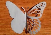 Butterfly Templates / Butterfly Templates Perfect for Classroom or Crafty projects! / by Insect Lore