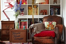 Home Decor - Reading Nooks / by Fabric Paper Glue
