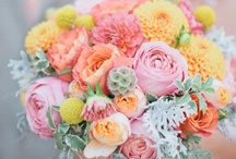 Parties - Flowers / Pics of pretty flowers for various celebratory occasions. / by Fabric Paper Glue