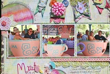 Disney Scrapbooking Inspiration / by Paula Armstrong