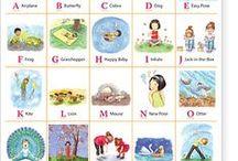 ABC..'s / Now I know my ABC's ! / by Cindy Adrian