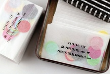 Business Cards / by Fabric Paper Glue
