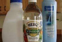 DIY Cleaning and Laundry solutions / Interesting! I've started cleaning almost everything with vinegar, baking soda and lemons. They work!! / by Lavada McReynolds