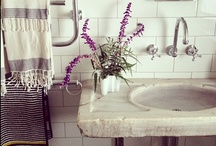 bath / tranquil inspiration for the bathroom / by Archives Vintage