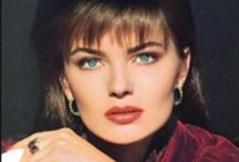 Estée Lauder ads / Some of my favourite Estée Lauder ads mostly featuring the best model ever Paulina Porizkova! / by Jeannie Karlsen