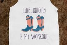 Line Dances / by Brittny Steward
