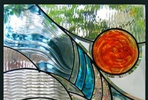 stained glass that i like :) / these are pieces I really would love to make at some point / by DEBRA HOLTHUS