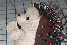 Mostly Pincushions / Pincushions, needle cases and other sewing notions / by Charlotte H