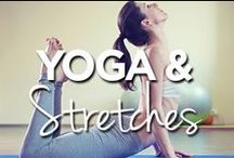 Yoga & Stretches / by Lucille Roberts | The Women's Gym