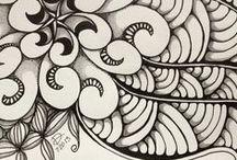 Doodling-Zentangle / by Sandy Worthington