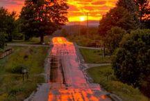 Sunrise Sunset ⛅ / by Bobbi Willmer