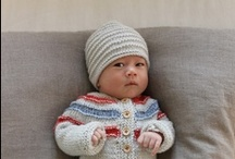 Knitting Patterns for Boys / Knitting patterns for CLICK for Babies Campaign / by PURPLE Crying