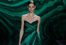 Fashionista Green / Go green with envy for haute couture + prêt-à-porter + fashion photography / by