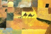 Paul Klee / Paul Klee (German pronunciation: [paʊ̯l ˈkleː]; 18 December 1879 – 29 June 1940) was a painter born in Münchenbuchsee, Switzerland, / by Catherine Scott