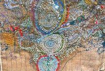 Junko Oki. Textile artist. / by Catherine Scott
