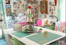 Drool worthy crafty/office spaces / by Katherine M.