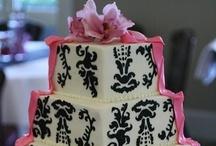 damask cakes / by A Cake To Remember LLC --Kara Buntin