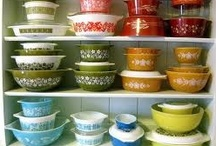Pyrex, Fire King & Vintage Dishes / by Amber