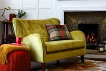 Argyll / Bring the Highlands into your home with a touch of tartan, woolen throws and nature prints / by Tesco