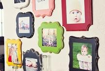Photo/Frame display Ideas / by Jodi Hershey