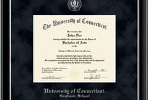 Graduate & School-Specific Program Diploma Frames / Customize your diploma frame with the name of your graduate school/academic school. Search for your school online at: http://www.diplomaframe.com / by Church Hill Classics