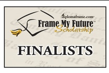 Finalists - 2013 Frame My Future Scholarship Contest / Frame My Future Scholarship Contest is an annual scholarship hosted by Church Hill Classics. Students share how they want to 'frame their future' with a creative and original entry piece. We select 24 Finalists, and then ask the public to vote on their favorite entry to determine our winners. Five students win a $1,000 scholarship, and the top-voted entry receives a matching donation to their school. Vote for your favorite 2013 Finalist April 2 - May 2, 2013! www.framemyfuture.com / by Church Hill Classics