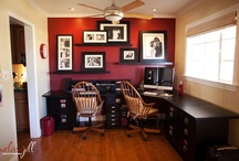 Office, desk & storage ideas / by Michael Young