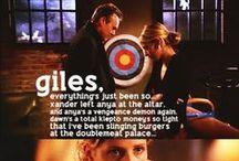 Buffy & Angelverse / by Gemma .