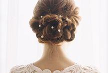 Bridal Do / Beautiful bridal hair for a beautiful wedding day / by Ashley Sumner