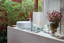 Bathroom - Banheiro / #decor #decoração #interiordeisgn #design #house #home #decoration #casa #apartamento #casadevalentina #bathroom #banheiro #lavabo #toilet #bath #lavatory / by Casa de Valentina
