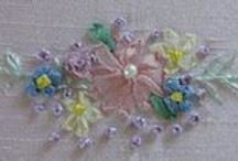 ribbon embroidery / by Betsie Sutherland