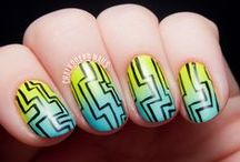 Tribal Nail Art / by Chalkboard Nails