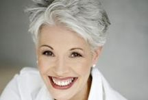 Silver / Fashion for grey or gray or silver haired women / by Lynn Davison
