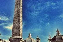 The Obelisks of Rome / There are 8 Eqyptian obelisks, brought over to Rome during the height of its power: Piazza di San Giovanni in Laterano; Piazza del Popolo; Piazza di Montecitorio; Piazza della Rotonda; Santa Maria sopra Minerva; Baths of Diocletian; Villa Celimontana; and at St. Peter's Square. The ancient Romans also made 5 copies of obelisks: Piazza Navona; Piazza del Quirinale; Piazza dell'Esquilino; Trinità dei Monti; and the Pincian Hill. Come to Rome and find them all! / by The Spanish Steps Apartment Rome Italy Rome, Italy