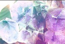 Minerals / Crystals, Geodes, Rocks. / by Katie Kaapcke