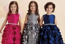 Joan Calabrese for Mon Cheri Children's Collection / by Mon Cheri