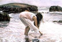"~Beautiful Sea~ / ""Live in the sunshine, swim the sea, drink the wild air…"" ~ Ralph Waldo Emerson / by Selia Renzetti"