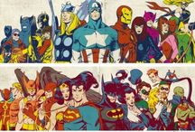 Supers / Hero Stuff / by Kendra Butler