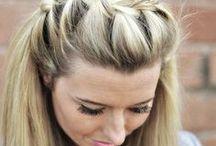 "Blonde Locks / ""I have magica hair that glows when I sing…"" / by Tessa Westlund"