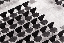 Chaises / Chairs / by Annie Bastien