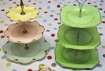 Cake Stands, Plates & Carriers / by Becky Schneider-Hauk