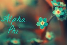 Sorority. Alpha phi. ❤️ / by Hanna Dupee