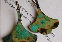 Etch, enamel, patina, and texture - Oh my! / by Carol Goodwyn