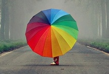 You Can Stand Under My Umbrella / All Umbrellas / by Lisa B
