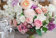 Floral Arrangements - arranjos florais / by Janete Pimenta