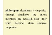 purity made simple / we must begin with the most basic step of all, the daily ritual of cleansing / by philosophy