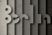 design & typography / by Saskia van der Meij