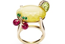 Piaget Cocktail Inspiration / Sparkling gemstones evoke fascinating cocktails. Colourful, tangy, fruity... Piaget's Cocktail inspiration rings and necklaces sparkle with a shimmering radiance that lights up the night, forming a set of exquisite invitations to succumb to life's most delightful pleasures. / by Piaget