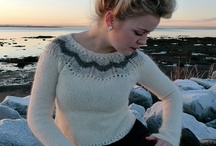 Lopi sweaters / Lopapeysa is literally a sweater knit with lopi. Also fairy young, the lopapeysa has become Iceland knitting trademark. / by Icelandic Knitter